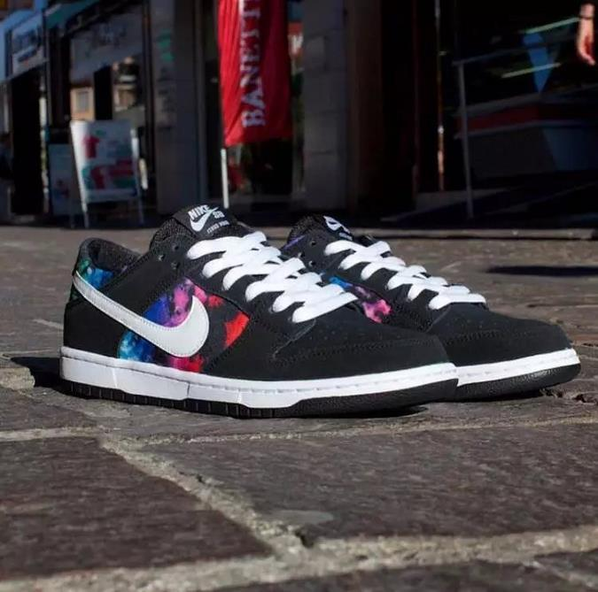 Nike Dunk SB Low IW Black Colorful Shoes