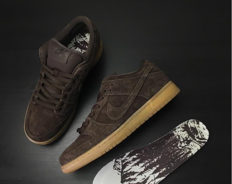 Women Nike SB Dunk Low Premium Brown Shoes