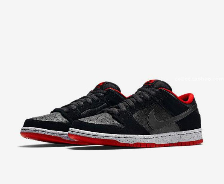 Women Nike SB Dunk Low Pro Bred Shoes