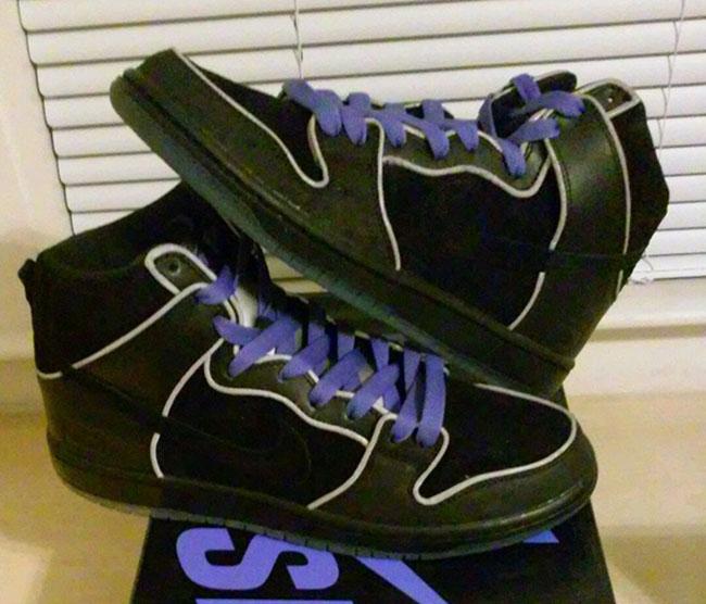 new arrival d31e2 8be50 Men Nike Dunk High Elite SB Black Box Shoes