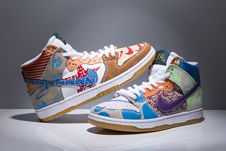 Men Nike SB Dunk Hi P TC WhatThey Shoes