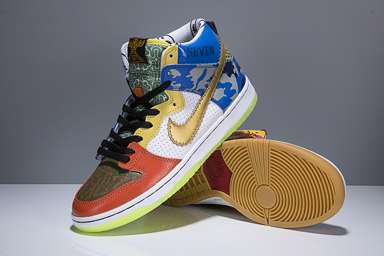 "Men Nike SB Dunk High ""What The Doernbecher""Shoes"