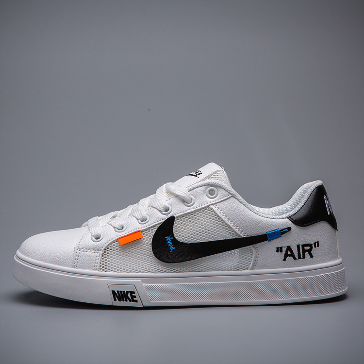 Men Nike Unisex Off-white White Black Shoes