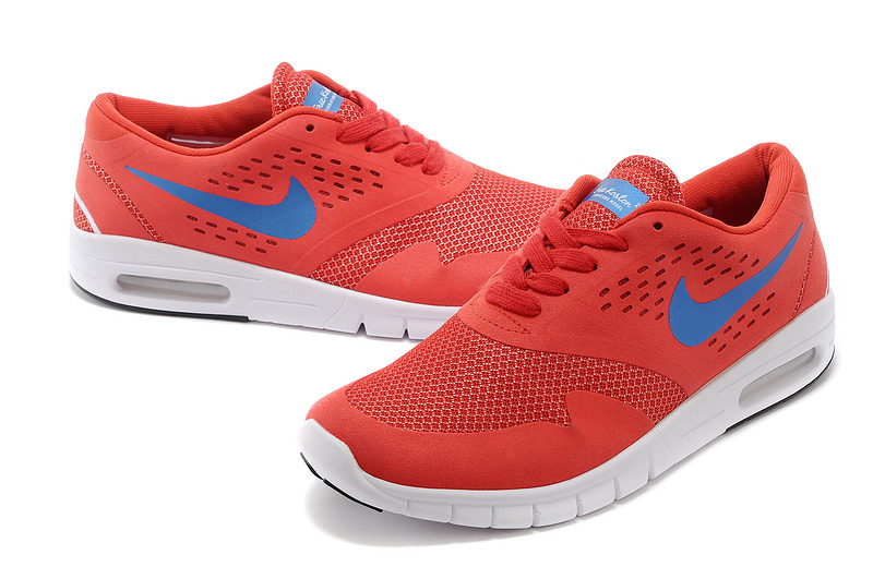 Men Nike Air Eric Koston 2 Max Low Red Blue Shoes