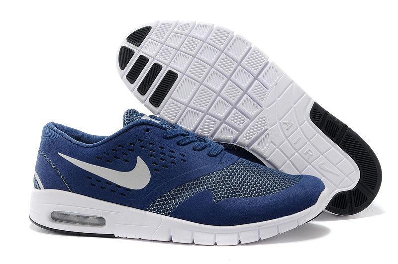 Men Nike Air Eric Koston 2 Max Low Blue White Shoes