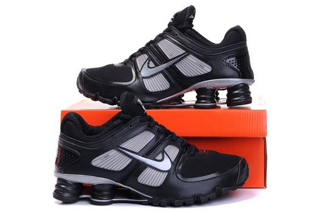 Men Nike Shox Turbo Shoes Black