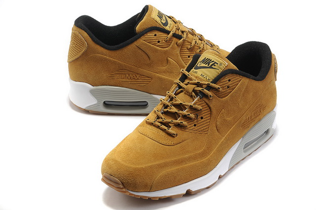 Mens Nike Air Max 90 VT Shoes Premium QS Brwon