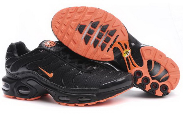 Mens Nike Air Max TN 2010 Black Orange Shoes