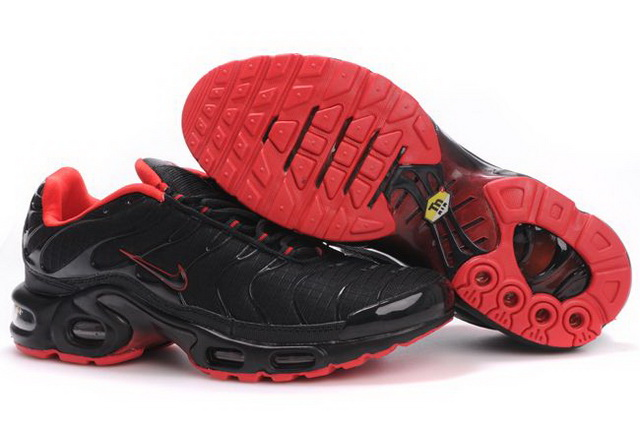 Mens Nike Air Max TN 2010 Black Red Shoes