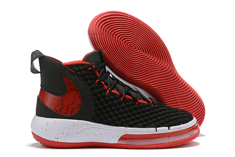 NIKE AIphaDunk FIBA Black Red White Shoes