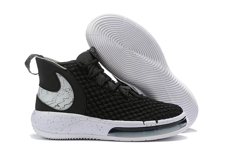 NIKE AIphaDunk FIBA Black White Shoes