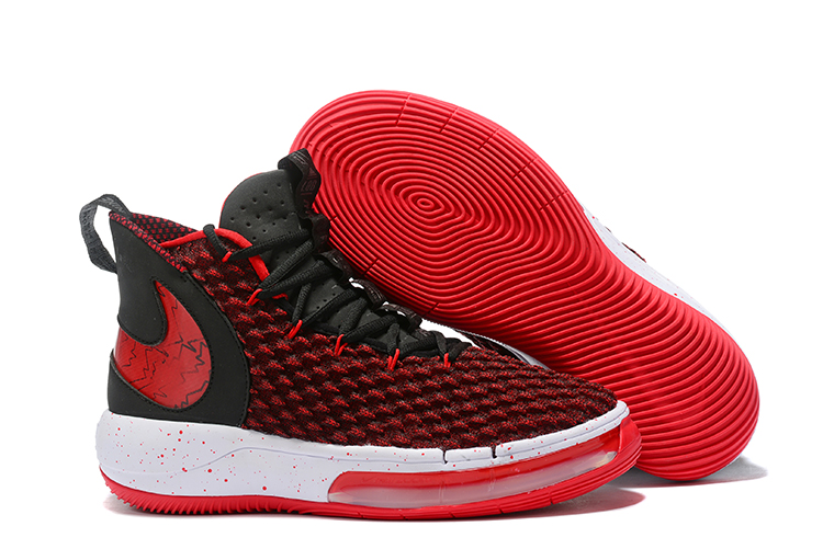 NIKE AIphaDunk FIBA Red Black White Shoes