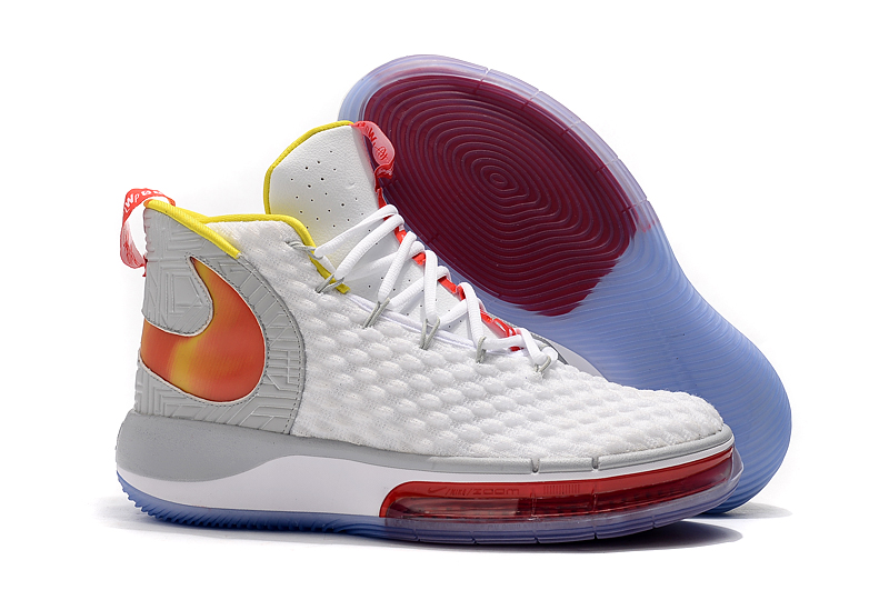 NIKE AIphaDunk White Red Yellow Orange Grey Shoes