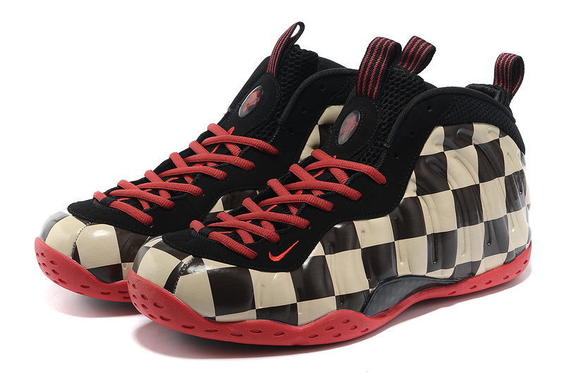 Nike Air Foamposite One Shooting Stars Black Coffe Red Shoes