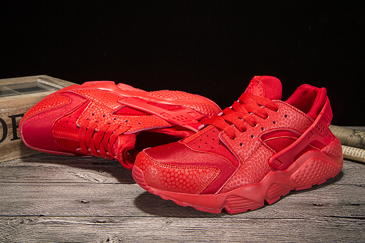 New Nike Air Huarache All Red Women Shoes