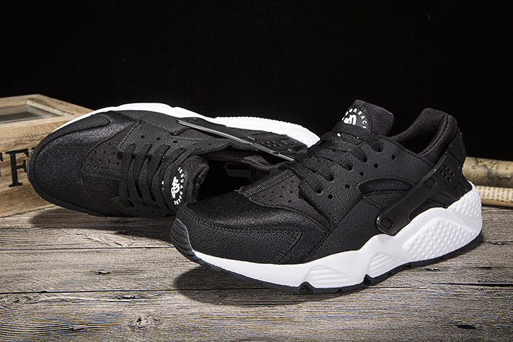 New Nike Air Huarache Black Women Shoes