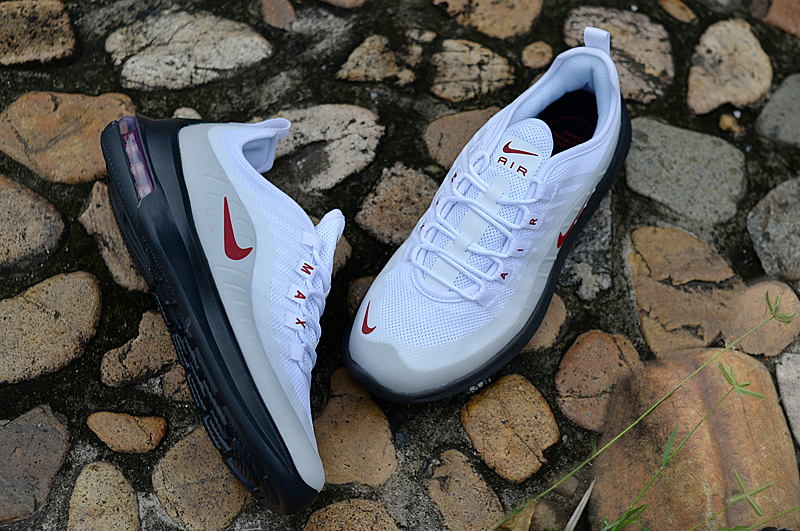 New Nike Air Max 98 White Red Black Shoes