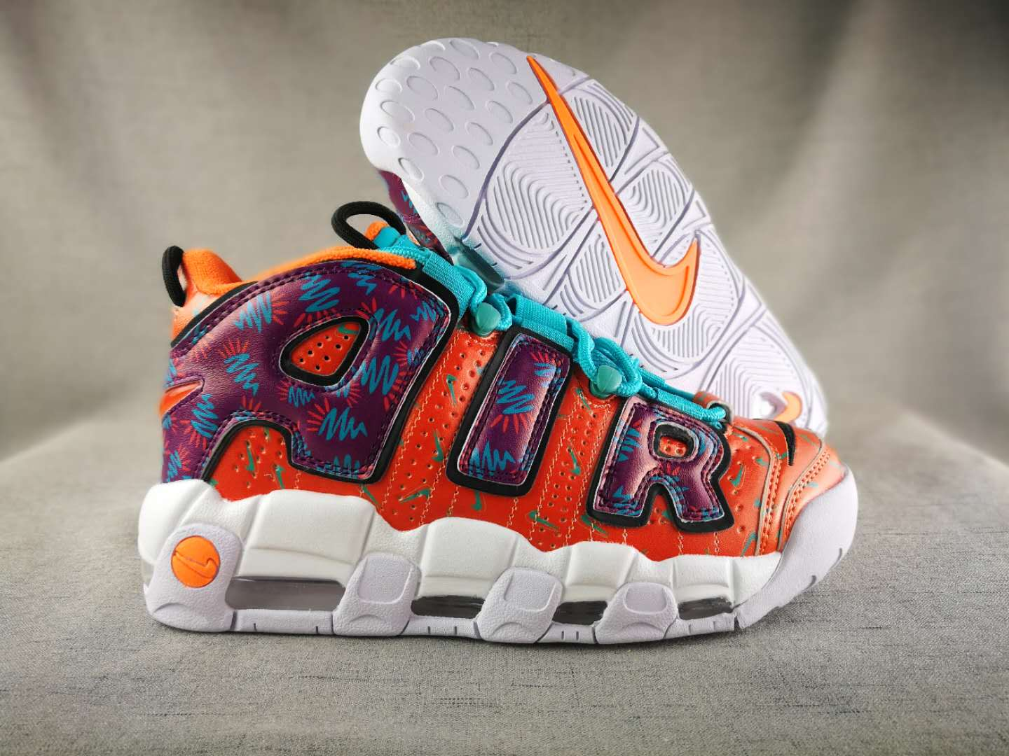 New Nike Air More Uptempo Mandarick Duck Shoes