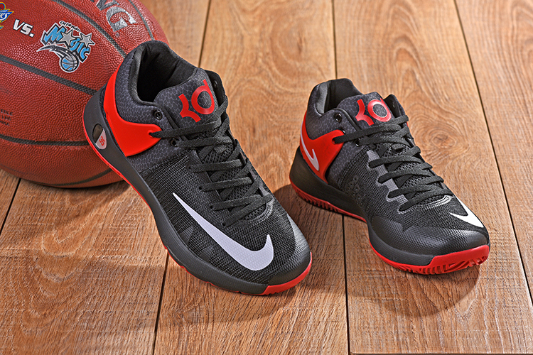 New Nike KD Trey 5 IV Black Red Shoes