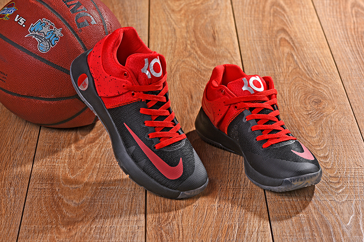 New Nike KD Trey 5 IV Red Black Shoes