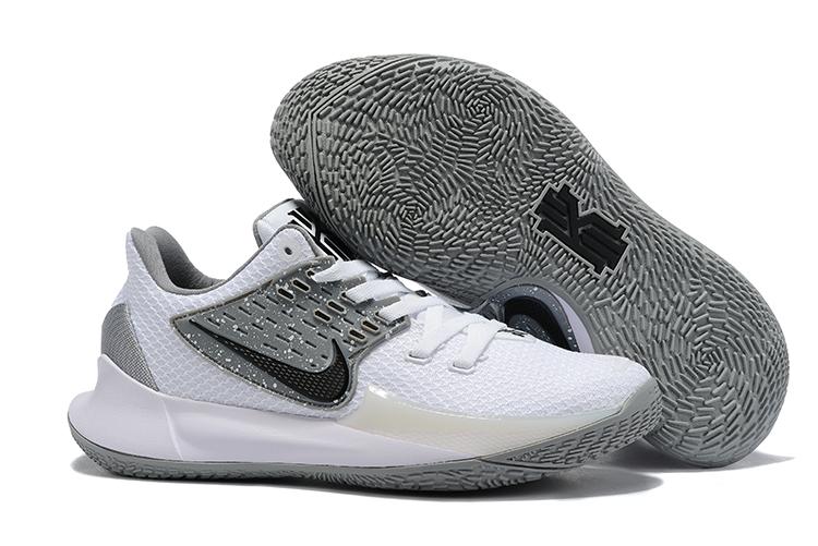 New Nike Kyrie 2 Low White Grey Black Shoes