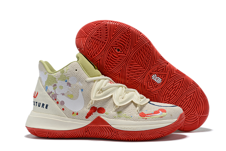 New Nike Kyrie 5 Beign Red Shoes