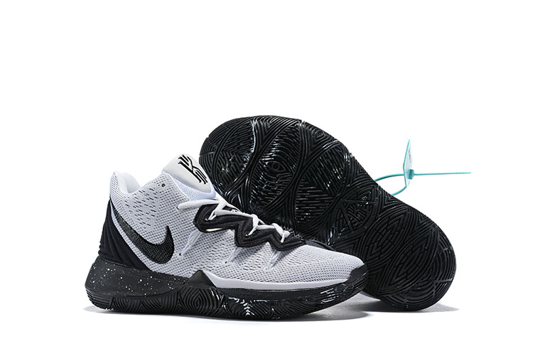 Women New Nike Kyrie 5 Oreo Shoes