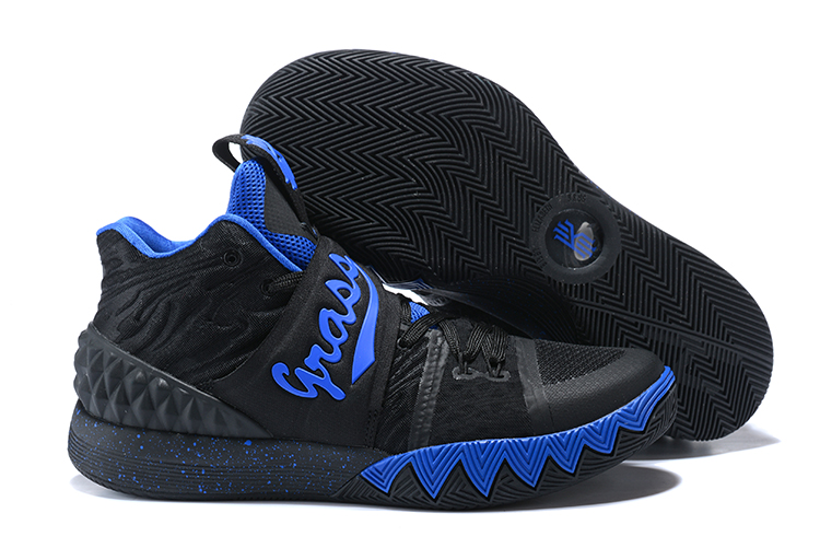 New Nike Kyrie S1HYBRID3 Black Blue Shoes