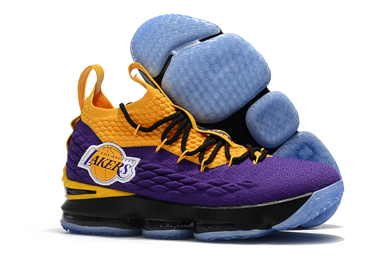 New Nike Lebron 15 Lakers Purple Yellow Shoes 18kobe81101 80 00 Original Kobe Shoes Cheap Kobe Shoes