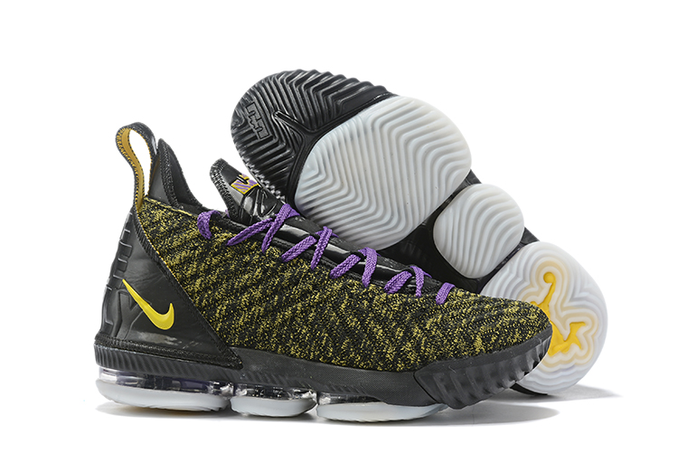 New Nike LeBron 16 Army Green Black Purple Shoes