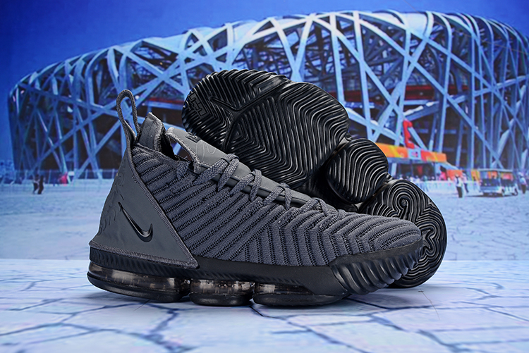 New Nike LeBron 16 Carbon Grey Shoes