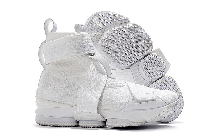 New Nike Lebron 14 High All White Shoes