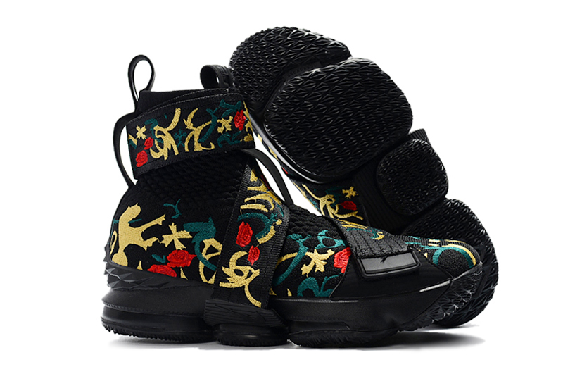 New Nike Lebron 14 High Flor Black Colorful Shoes