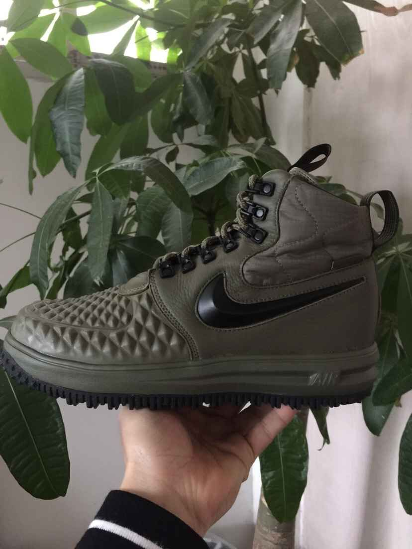 New Nike Lunar Force 1 Duckboot Deep Green Black