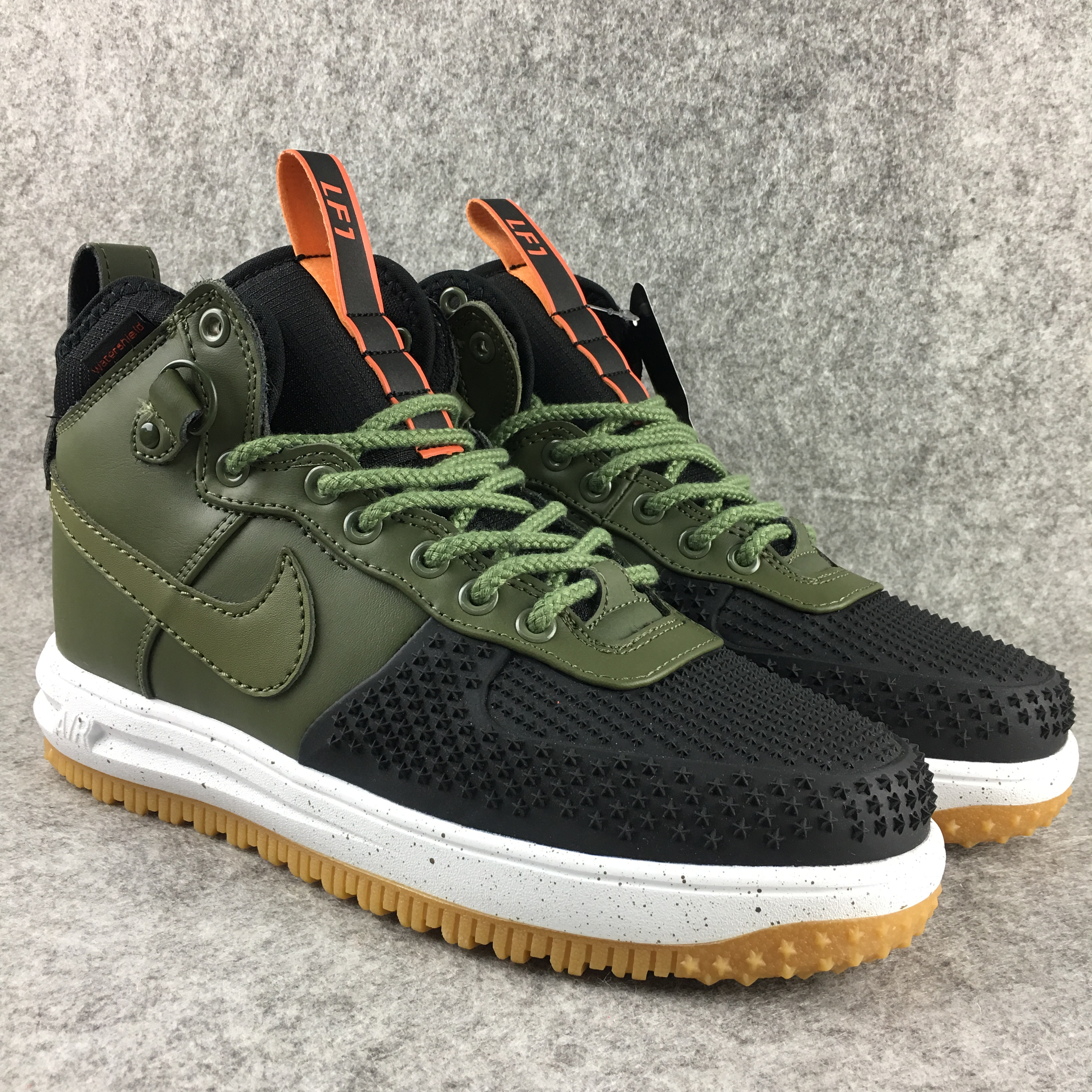 New Nike Lunar Force 1 High Green Black