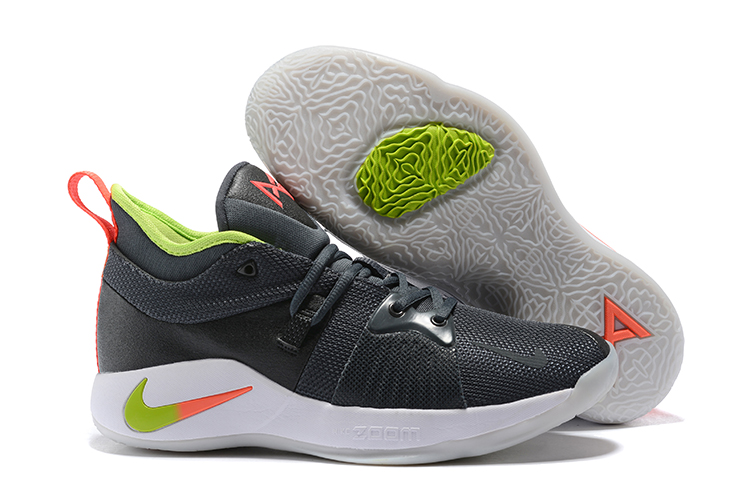 New Nike PG 2 Black Green Red