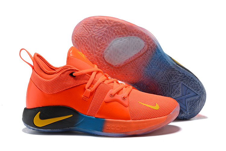 da414b1fbed7 New Nike PG 2 Orange Yellow Black Blue Shoes  18kobe61411  -  80.00 ...