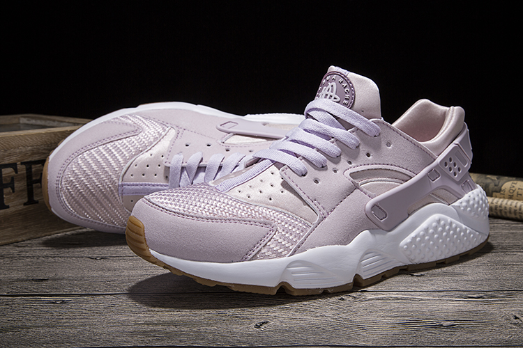 New Women Nike Air Huarache 1 Light Purple Shoes