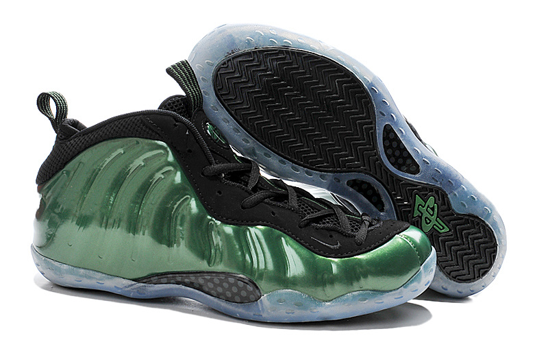 New Nike Air Foam Penny Hardaway Green Black Shoes