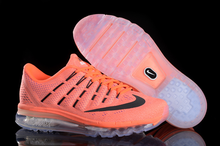 New Nike Air Max 2016 Orange Black Shoes For Women
