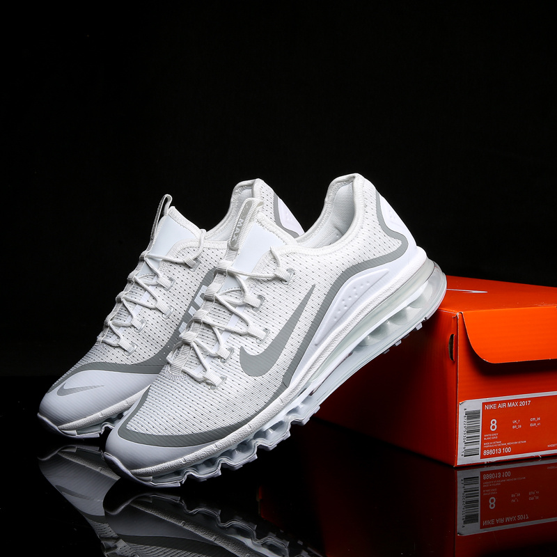New Nike Air Max 2017 2 White Grey Shoes