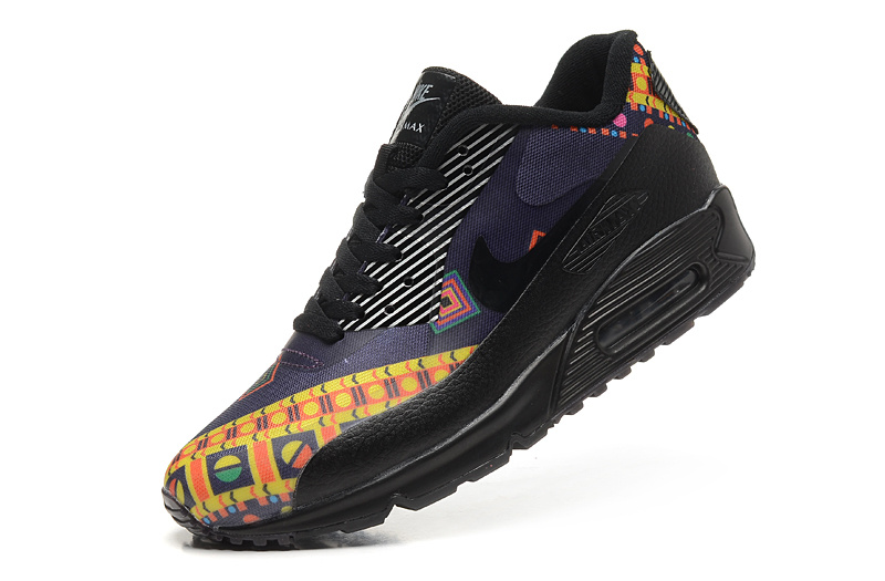 2016 Newest Nike Air Max 90 Black Yellow