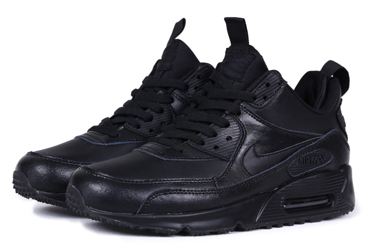 Nike Air Max 90 High All Black