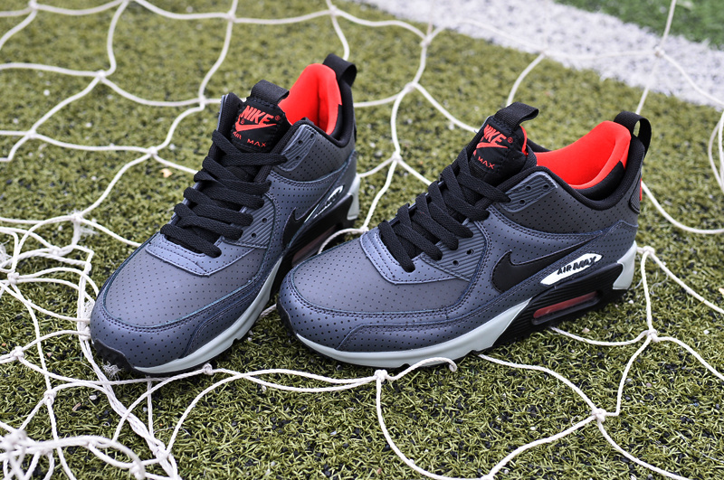 Nike Air Max 90 High Grey Black Red