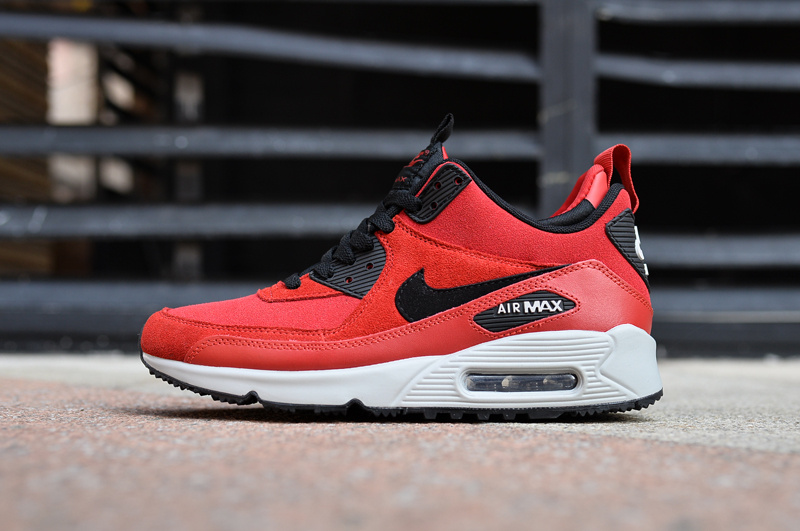 Nike Air Max 90 High Red Black White