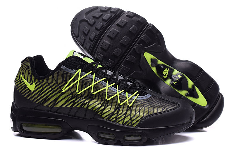 2016 Nike Air Max 95 20th Black Green