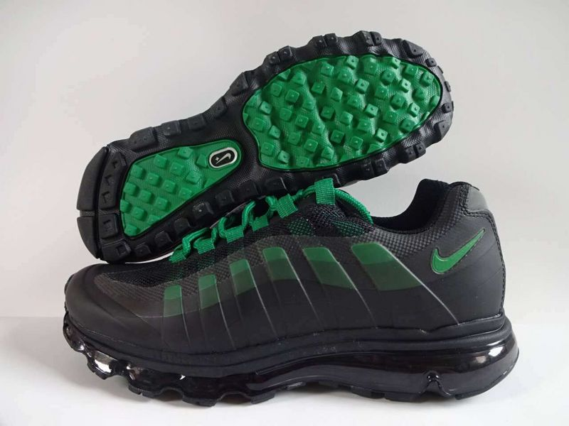 2016 Nike Air Max 95 Black Green Shoes