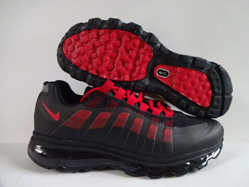 2016 Nike Air Max 95 Black Red Shoes