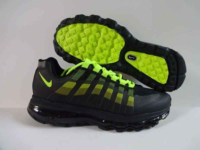 2016 Nike Air Max 95 Black Volt Shoes
