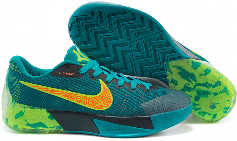 promo code eb7e5 52f84 New Nike KD Trey 5 II Green Black Yellow Shoes
